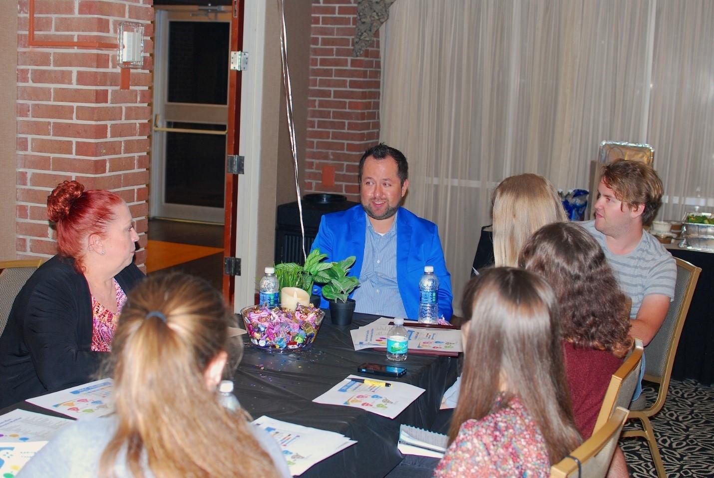 April Meeting Recap: Blue Venue